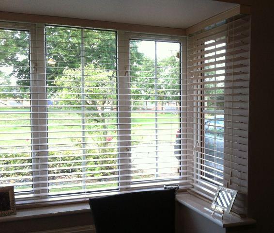 Fine Vertical Blinds Bay Window Wooden Intended Ideas