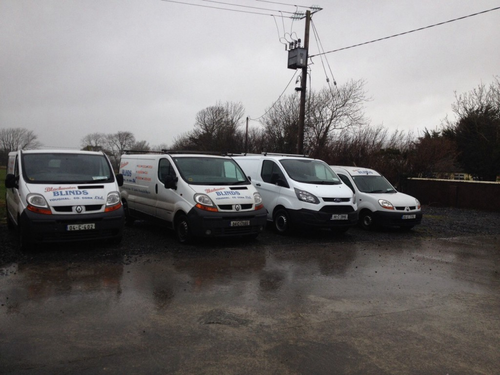 Blackwater Blinds Vans